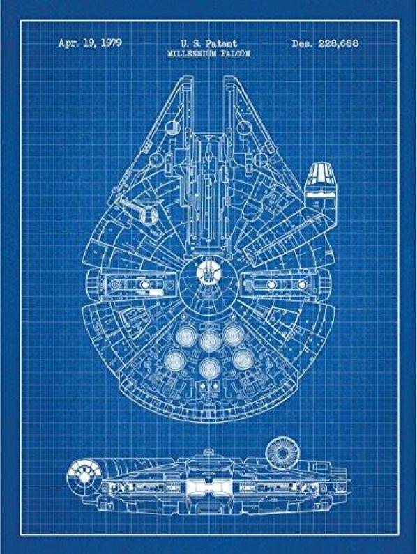 Vintage Star Wars Millennium Falcon screws 1979 Millenium