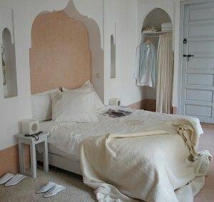 Slaapkamer oosterse stijl