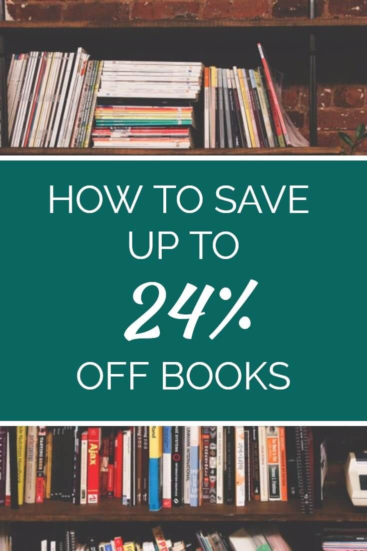 Save money on books using this simple strategy. This blogger found a way to knock almost a quarter off the price of books - has to be seen to be believed! Click here to learn more...