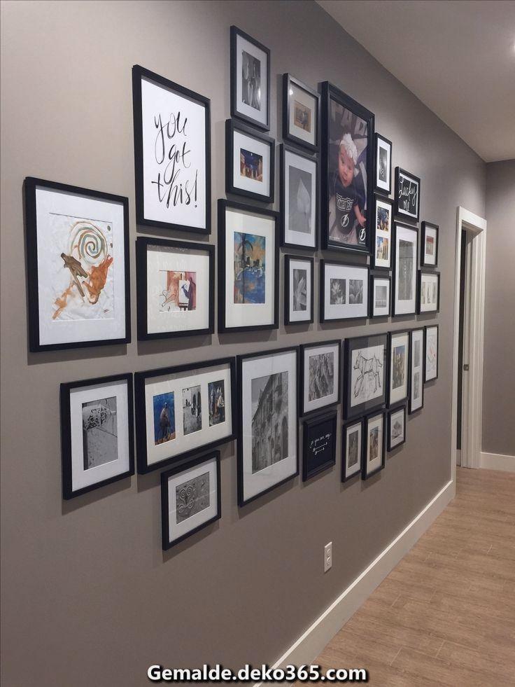 Fantastische Jener obere Teil dieser Wandgalerie extra dem Sofa in meinem Familienzimmer!