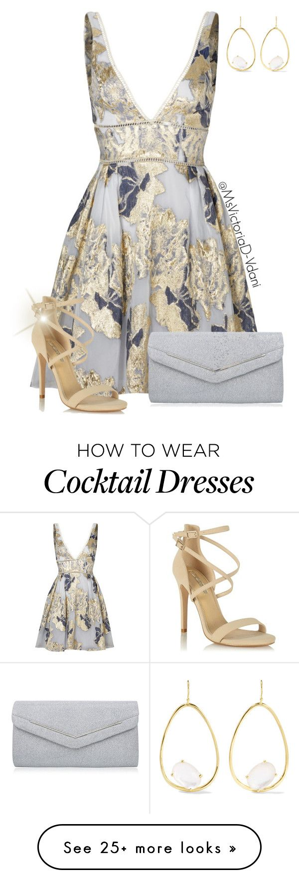 """Macy"" by msvictoriad on Polyvore featuring Notte by Marchesa, Ippolita, Miss Selfridge and Nina"