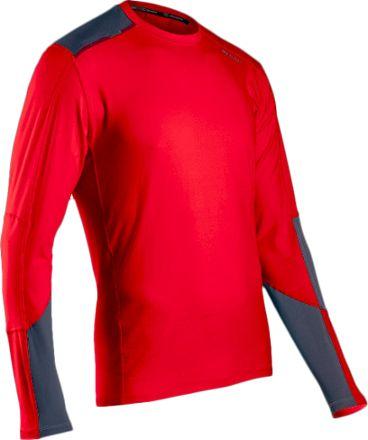 093447629 Sugoi Men's Titan Core Long-Sleeve Shirt Chili Red/Coal Blue S | Products |  Mens running shirts, Long sleeve shirts, Running shirts