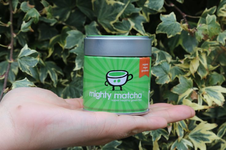 Mighty Matcha past in je hand