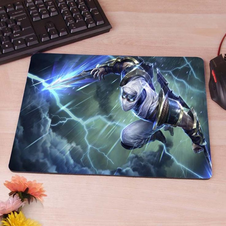 League of Legends Zed Mousepad Mouse Pad pc mac laptop notebook usb hwd Gamer anti slip