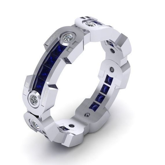 mens ring mens droid ring band full leg by paulmichaeldesign - R2d2 Wedding Ring