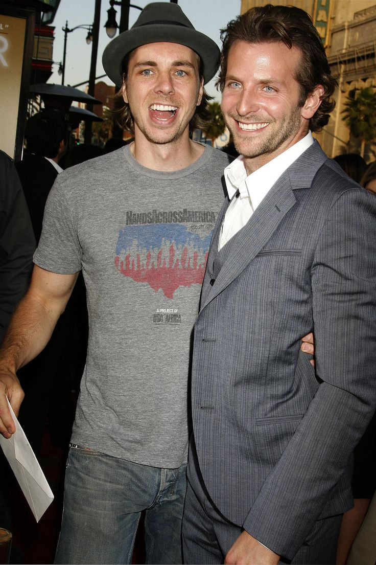Dax Shepard got his real-life best friend, Bradley Cooper... the amount of hotness in this pic!!!!!