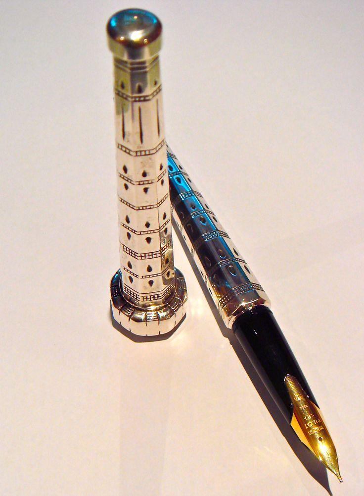 Sterling Silver Pilot Stylus Fountain Pen.