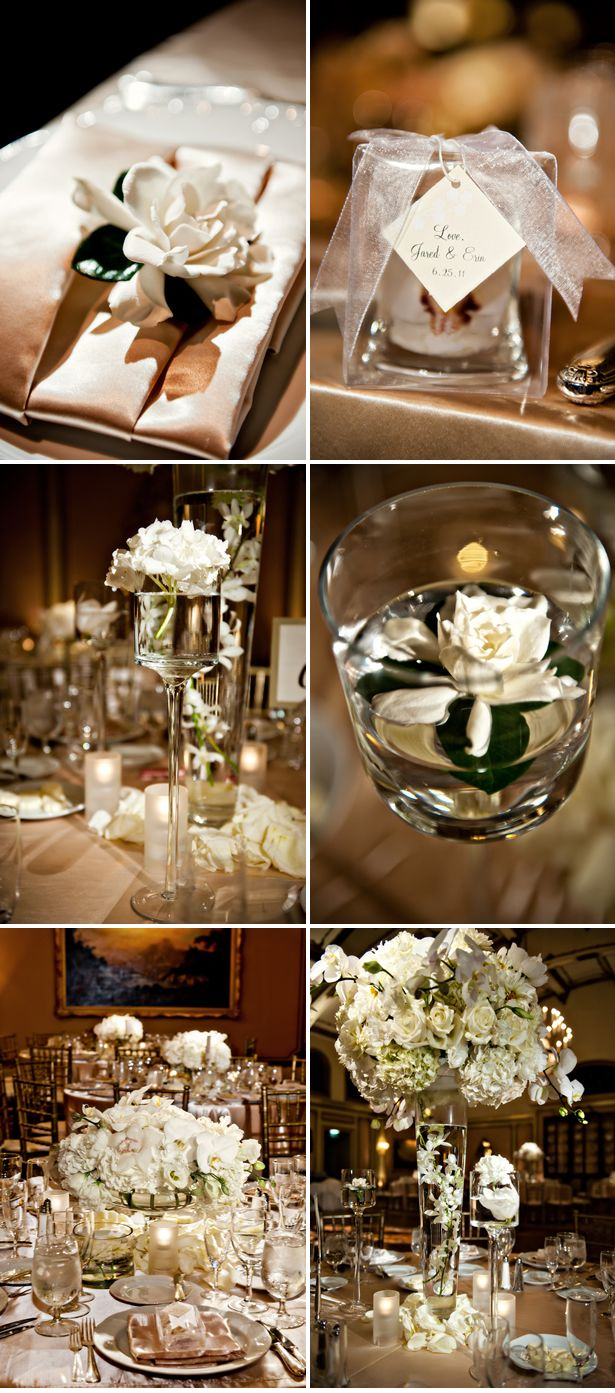 17 Best ideas about Champagne Wedding Decorations on Pinterest
