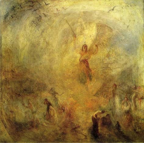 JMW Turner - Angel Standing in the Sun (Tate Britain)