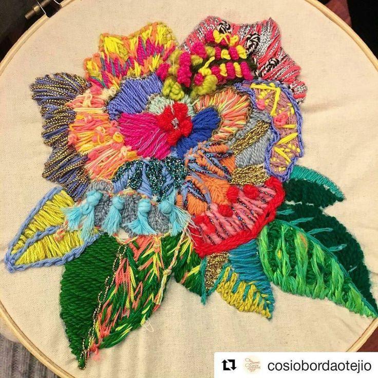 Stitchgasm - cosiobordaotejio's flower - Mr X Stitch