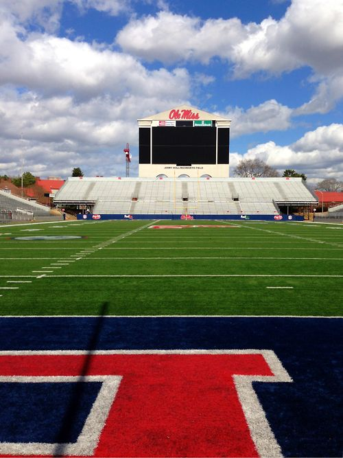 Ole Miss football field!