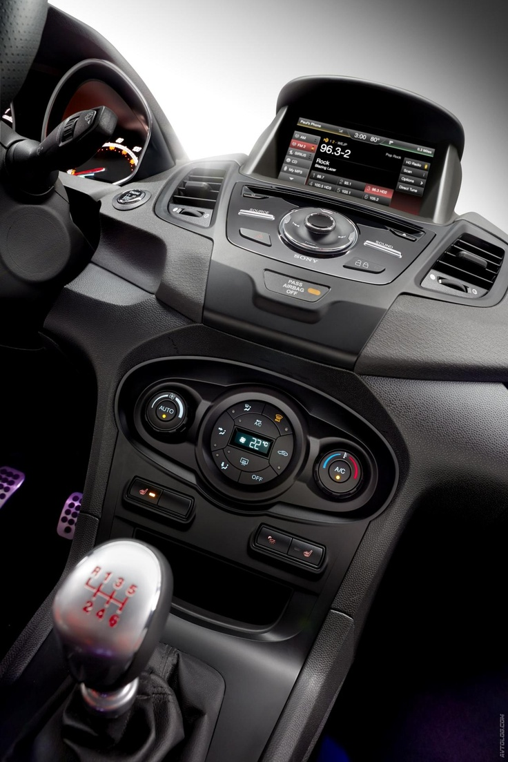 2014 Ford Fiesta ST... I could drive this. :)
