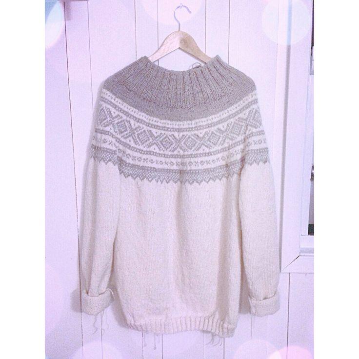 Traditional norwegian sweater, Marius genser
