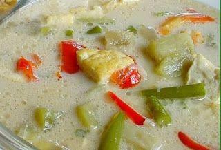 Indisch eten!: Indonesische recepten: Sajoer lodeh met tempé (en ...