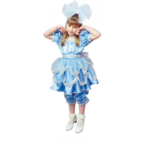 Как сделать бант для костюма куклы
