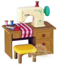 Queen B needs a sewing machine for her Calico Critters!