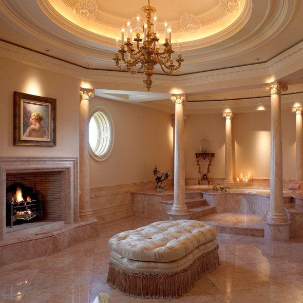 Amazing Master Bath Suite - Stunning! | Kahn Design Group  ᘡղbᘠ