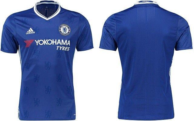 Camisas do Chelsea 2016-2017 Adidas