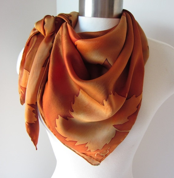 Silk Square Scarf - Weathered by VIDA VIDA