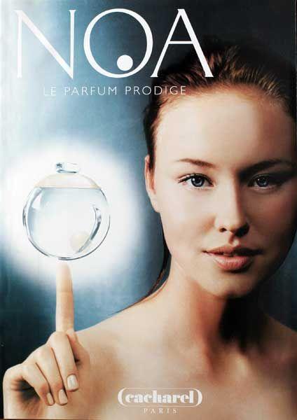 Publicité Du Parfum Noa 1998 2002 De Cacharel My Fragrance в
