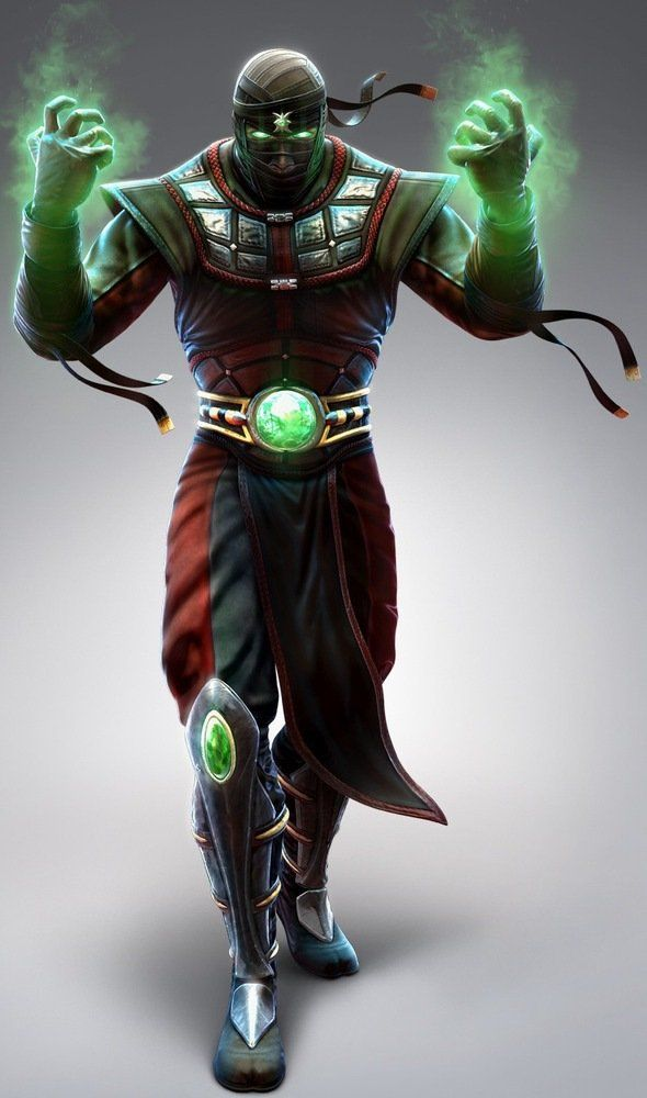 Ermac - the Mortal Kombat series