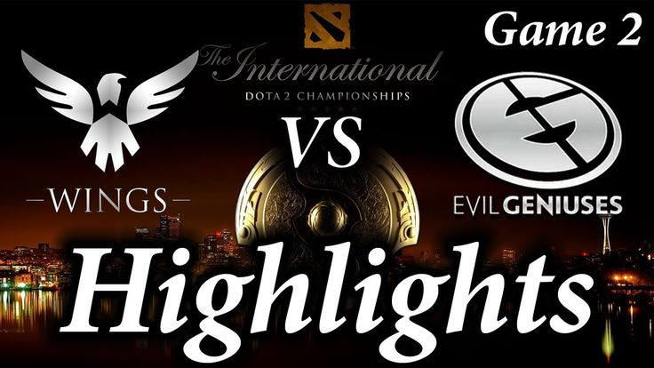 TI6 the Wings Gaming vs Evil Geniuses Highlights Game 2 The Internationa...