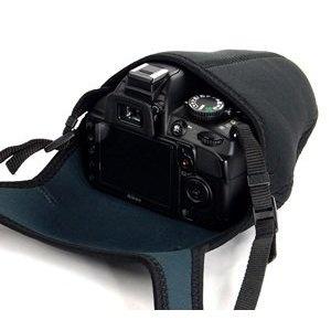 Cosmos Black/Gray DSLR Camera Protection case/Bag/Sleeve for Sony Canon Nikon , Cosmos Cable Tie