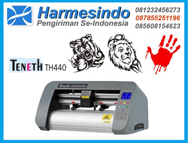 Mesin Cutting Sticker Teneth TH440