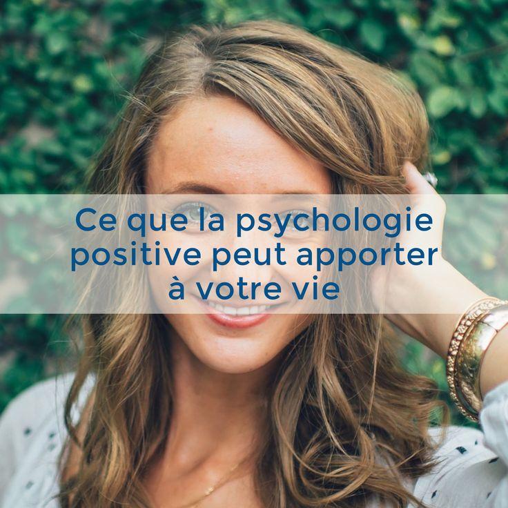 """Dans le manifeste de psychologie positive, elle est définie ainsi :    """"La psychologie positive est la réflexion scientifique sur le fonctionnement humain optimal. Elle vise à isoler et mettre en valeur les facteurs favorisant l'épanouissement des"""