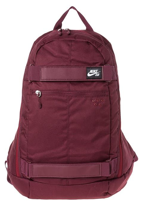 Nike SB EMBARCA - Mochila - night maroon/team red/white - Zalando.es