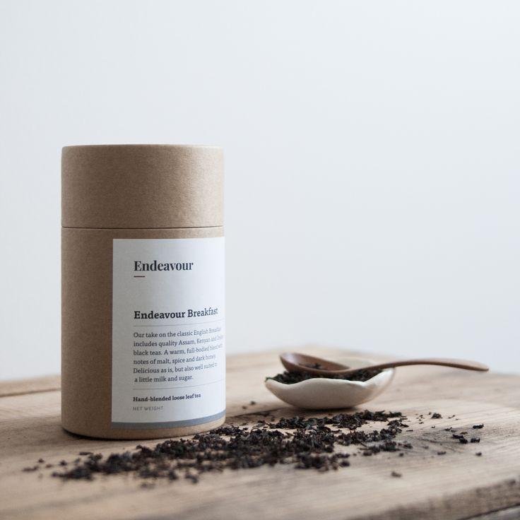 Endeavour Breakfast — hand-blended loose leaf tea