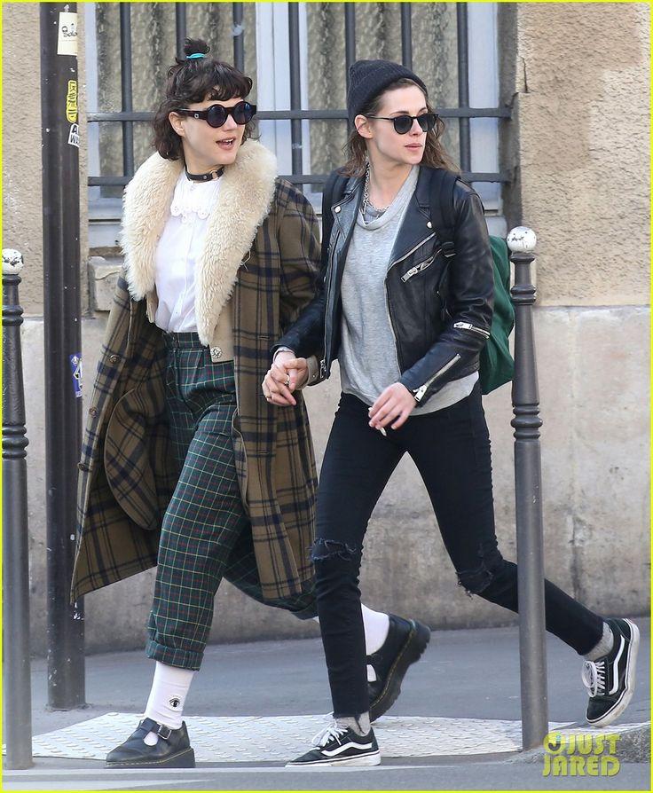 Kristen Stewart Kisses Rumored Girlfriend Soko in Paris