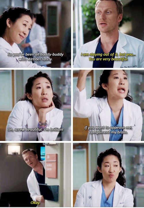 couple, cristina yang, and owen hunt Bild