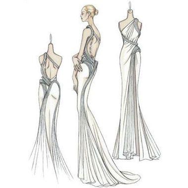 Cheryl Cole wears Versace Atelier...AGAIN! An elegant Grecian style drape dress