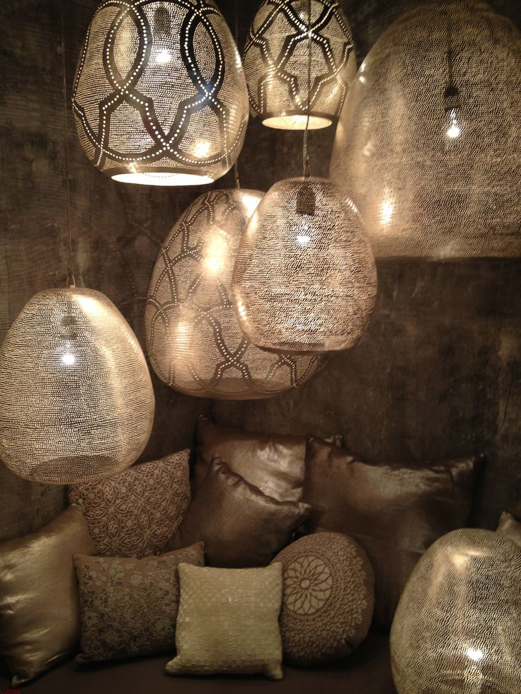 Lampes dentelles - inspiration marocaine