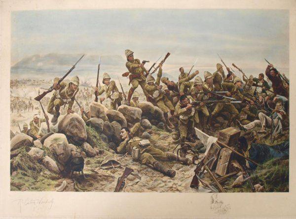 Irish on the attack  c1900