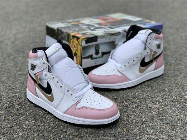 air jordan 1 retro high og rosa