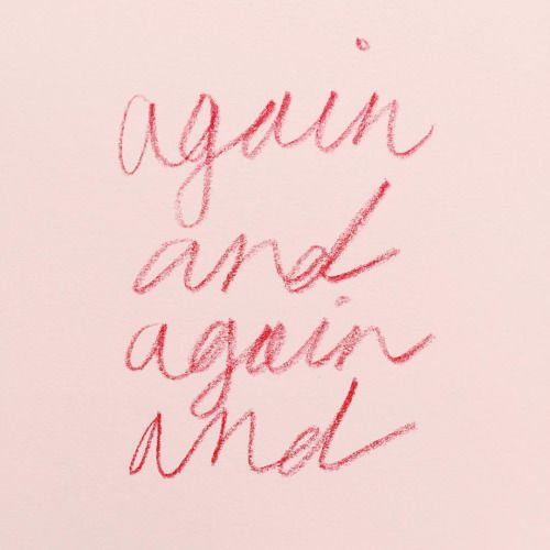 slapdashing: melodyhansen: again and again and typophile