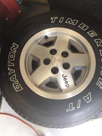 JEEP WRANGLER Tires & Rims (Verona) $650
