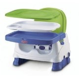 Fisher-Price Healthy Care Deluxe Booster Seat, Blue/Green/Gray (Baby Product)By Fisher-Price