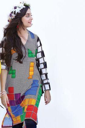 37fba8ca31 Gul Ahmed 1 Piece Digital Printed Custom Stitched Shirt - SL-482 - Black