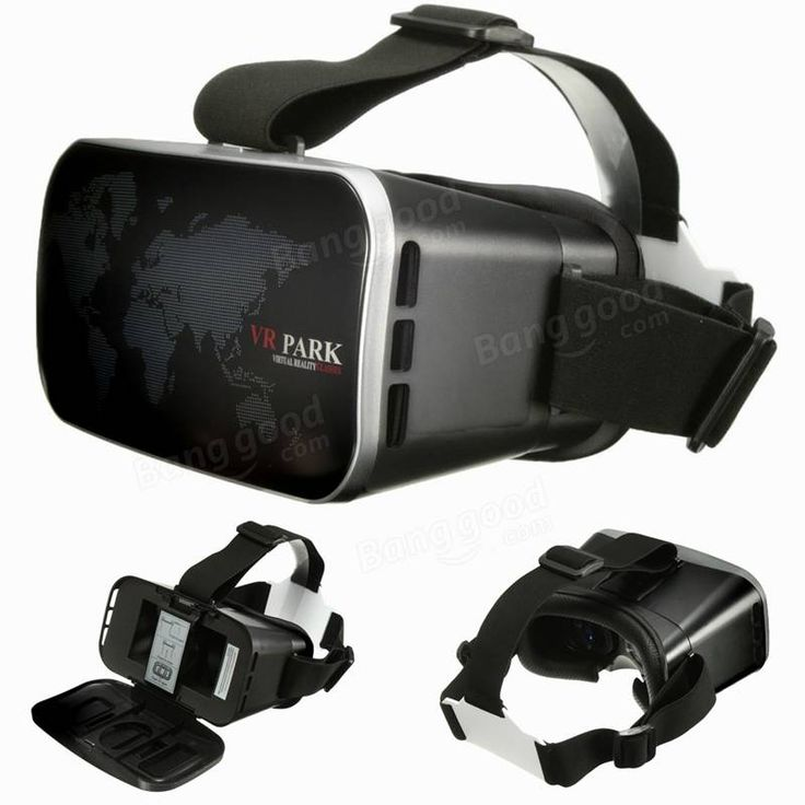 VR PARK V3 3D Glasses Virtual Reality 3D Video Movies Game Glasses For 4.0-6.0Inch Smartphone Sale - Banggood.com