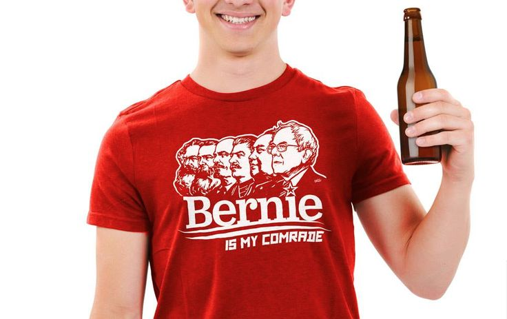 Bernie Sanders' Campaign Is Trying to 'Suppress' 'Bernie Is my Comrade' Shirts