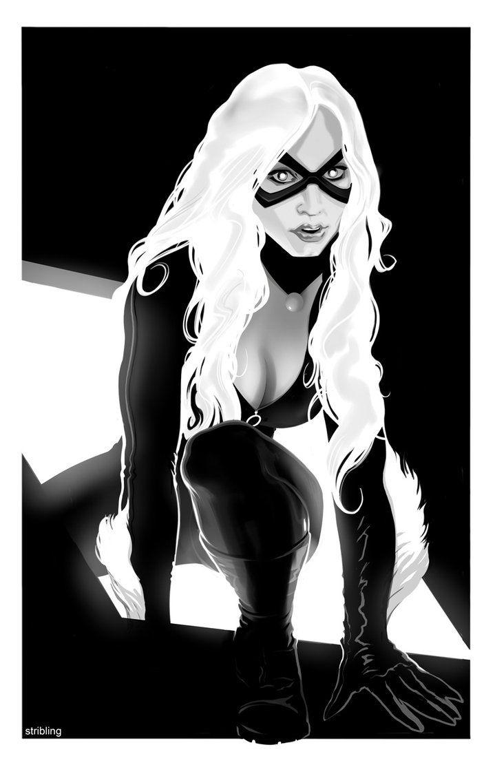 Black Cat - strib  ღ♥Please feel free to repin ♥ღ www.unocollectibles.com.com