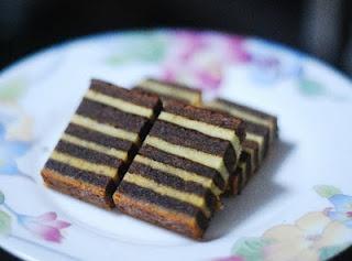 Lapis Legit Pisang (Banana Layer Cake)