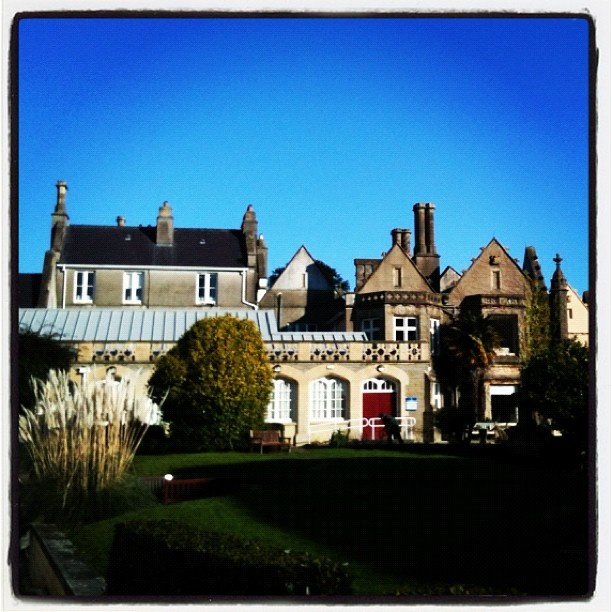 Singleton Abbey at Swansea University in Wales #studyabroad
