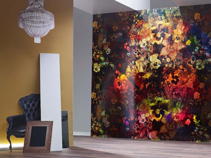 Wallpaper Design by Jakob Schlaepfer.  On wirzwelt.ch you will find thousands of stylish wallpapers and great ideas for your interior design.   Wirz Tapeten AG