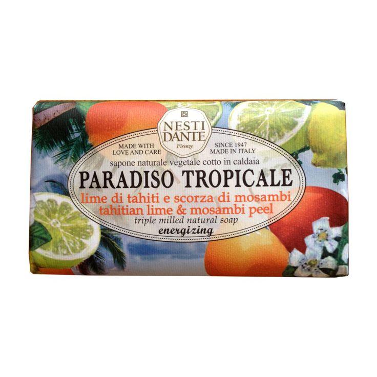Nesti Dante Tahitian Lime & Mosambi Peel with Citrus Aurantifloria - Candles