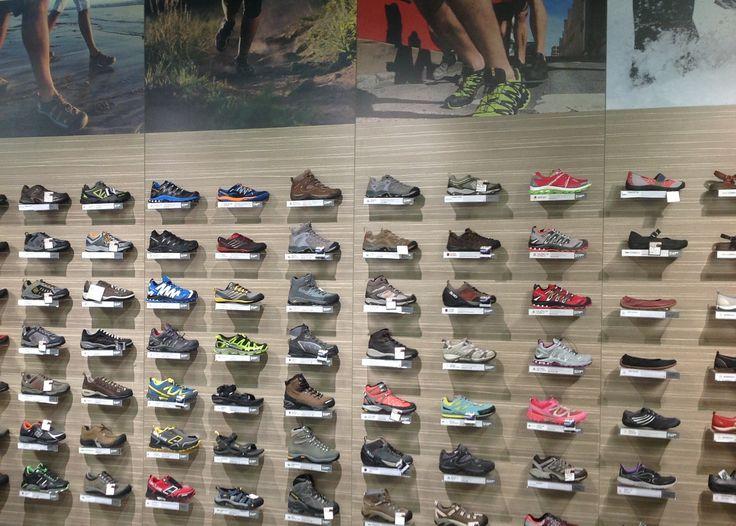 Mountain Designs fit out by Barrett Shopfitting Australia https://www.sishop.com.au/blog/your-stores-story-2/your-stores-story-mountain-designs-fit-out-by-barrett-shopfitting-australia/ #retail #shopfitting #Store #design   SI Retail Custom Panel for shoe shelves