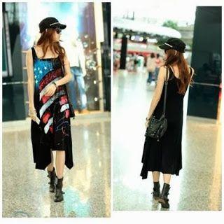 Flag Dress (BLACK) - Amelia Butik Online  Kode Produk : idw64  Bahan : cotton (elastic good) Good Quality Bust 92  Length 95 Fit to size XL  Kontak Amelia Butik : SMS : 0856-4063-4309 BBM : 275D50E5